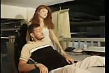 French redhead distracting her boyfriend