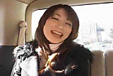 Busty Cute Japanese Chick Toyed In A Car DM720