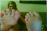 webcam feet compilation