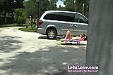 Lelu Love-Outdoor Masturbation Asshole Puckering
