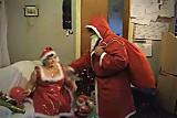 Santa Claus Gets Present