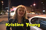 Young Kristina Double Team no condoms
