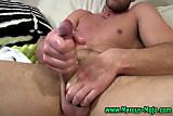 Pornstar Marcus Mojo tug cumshot