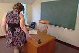 Naughty Teacher Rides The Principal