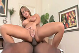 Trina Michaels fucks 2 older black men