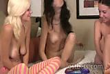 Daniella, Aurianna and Lily Strip Jester part I