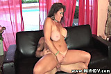 Hugely titted Anita Cannibal blowing and fucking