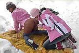 Lesbian Teens In Snow Pussy