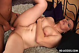 Kinky mature chick fucked from behind
