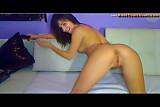 No sound: Web cam orgasm by amateur Bella