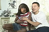 AMBW Lady Armani interracial with Asian guy