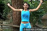 Aria Valentino aerobics