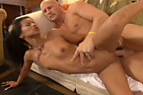 Stranger fucks young brasilian slut