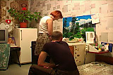 Amateur mature with young guy
