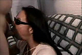 Amateur Wife Facial With Sunglasses