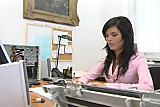 Office girls - Lisa and Stella - Cameron Cruz and Dorina