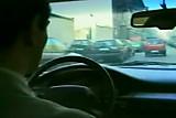 CAR NYLONS TEASE