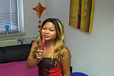 sexy thai girl fucks her self (sweet german dirty talk)