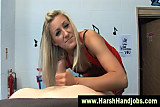 Angel Long gives harsh handjob