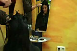 German Girl at the Hairdressers by snahbrandy