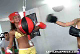 Little Caprice is Boxer