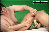 Lesbian BBW AND blond model 1