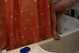 Portuguese Woman - Tuga - cums in the bath