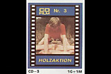 vintage 70s german - CD-Film 3 - Holzaktion  - cc79