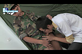 The Medical Blowjob Practice By A Soldier & A Doctor