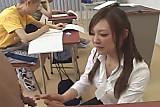 Supercute Rui Saotome fucked in school 2