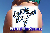Juicy White Anal Booty 7 BTS