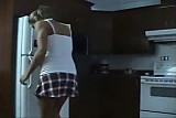 nice girl farting