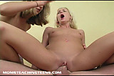 Teen Eden is taught how to be a real slut by Mrs. Roxanne