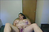 White BBW On Webcam