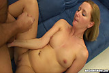Horny Blonde Milf Getting Banged