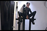No Sound: Lovely slave girl masturbating