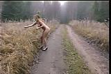 Krista In Winter Public Nudity