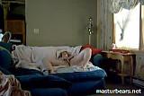 Canadian Nurse Abigail Masturbates watching porn