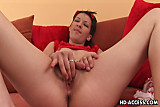 Beautiful Action chick fingering herself like crazy