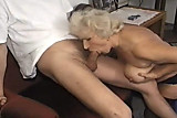 granny blowjob and fucking