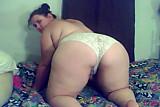 Chubby Butt Teen Tease Silvia