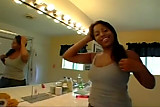 Ebony Masturbation