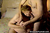 Chubby Granny Sucking Cock