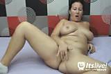 Cam No Sound: Busty Mature Babe Masturbation