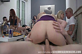 Amateur Couples at Czech Swingers Party