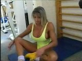 Bodybuilder Chicks InThe Gym