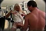 Kathy Jones in gym