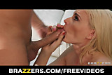Brazzers - Lonely blond wife calls a friend for rough-sex