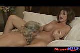 Two MILFs get nasty with each other