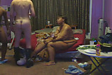 Pussyold wife watching her husband getting fucked (cuckold)